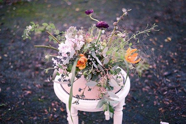 An arrangement from Poppy Flora Studio