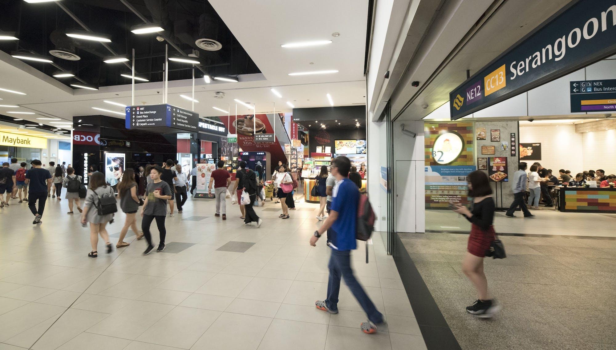 Serangoon MRT Station