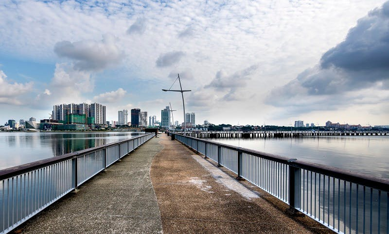 Woodlands Waterfront Park Jetty