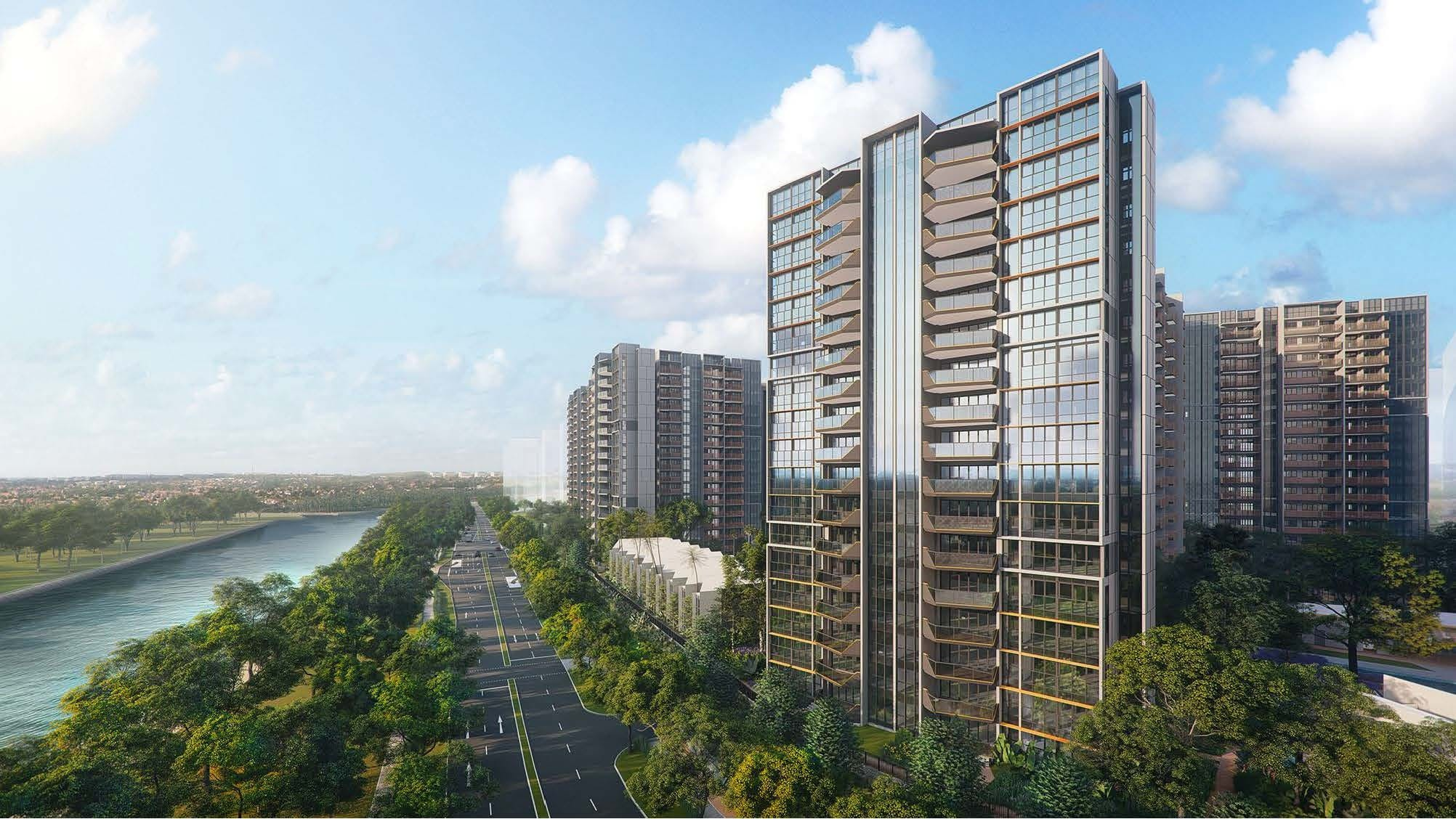 Riverfront Residences right by Serangoon River
