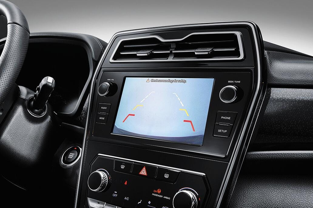 Radio con pantalla Touch y cámara de retroceso