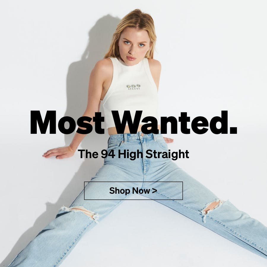 94 High Straight | Abrand Jeans