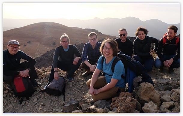 Abzu gathering in Tenerife, January 2020
