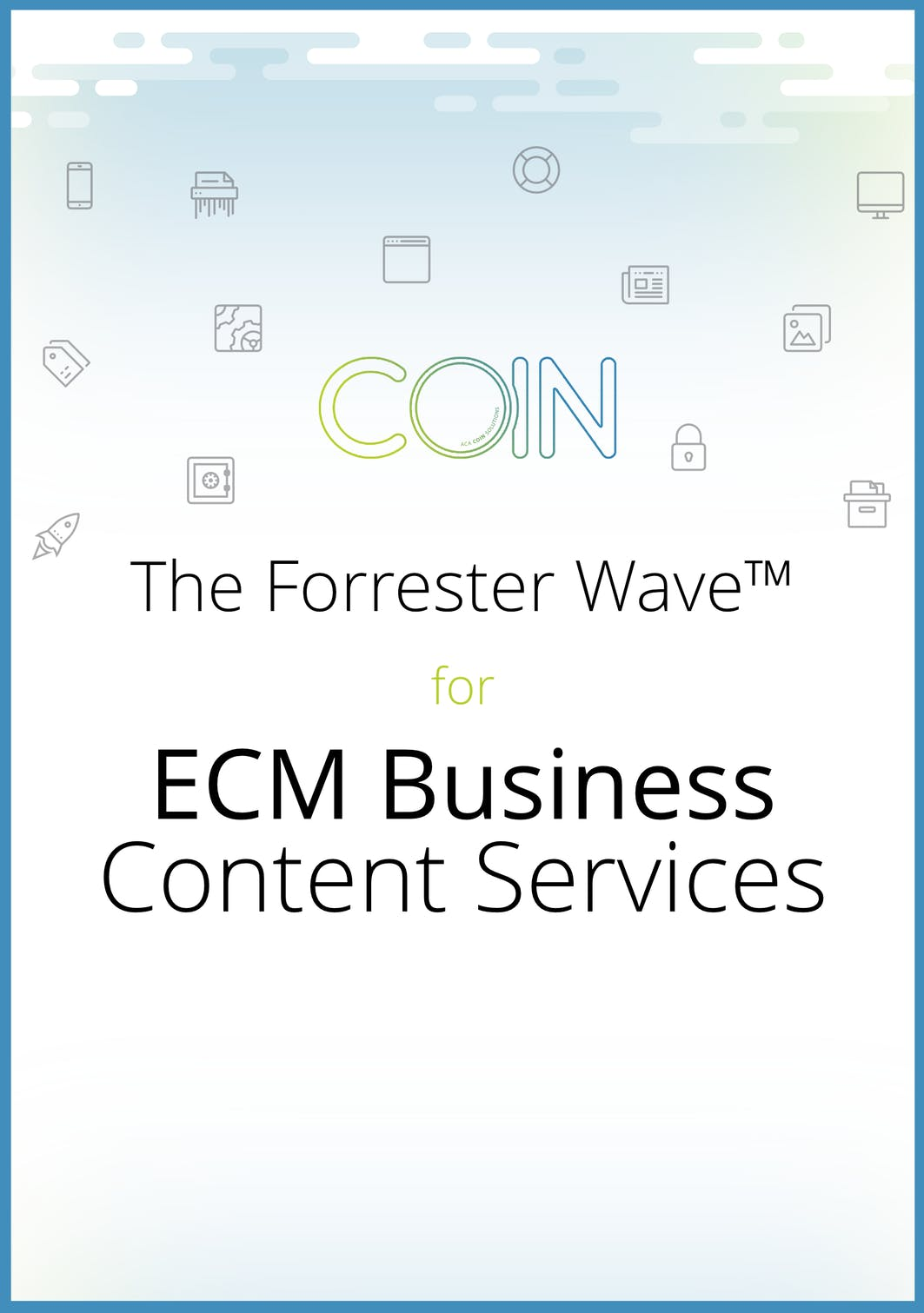 The Forrester Wave™ for ECM Business Content Services