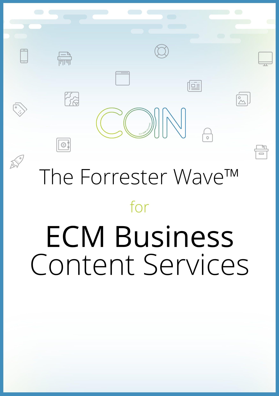 The Forrester Wave™ voor ECM Business Content Services