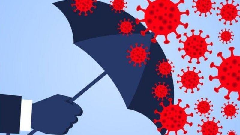 Foto: BBC News 'Imunidade coletiva, bolhas de proteção ou distanciamento?'
