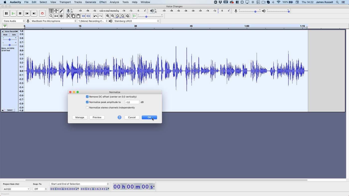 How to Make an Old Radio Voice Changer Filter in Audacity