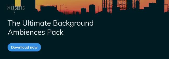 Royalty free background ambiences sound effects pack - SFX Cellar