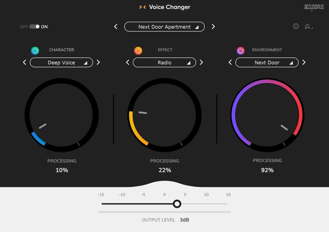 3 Popular Voice Changer Presets from Launch Week
