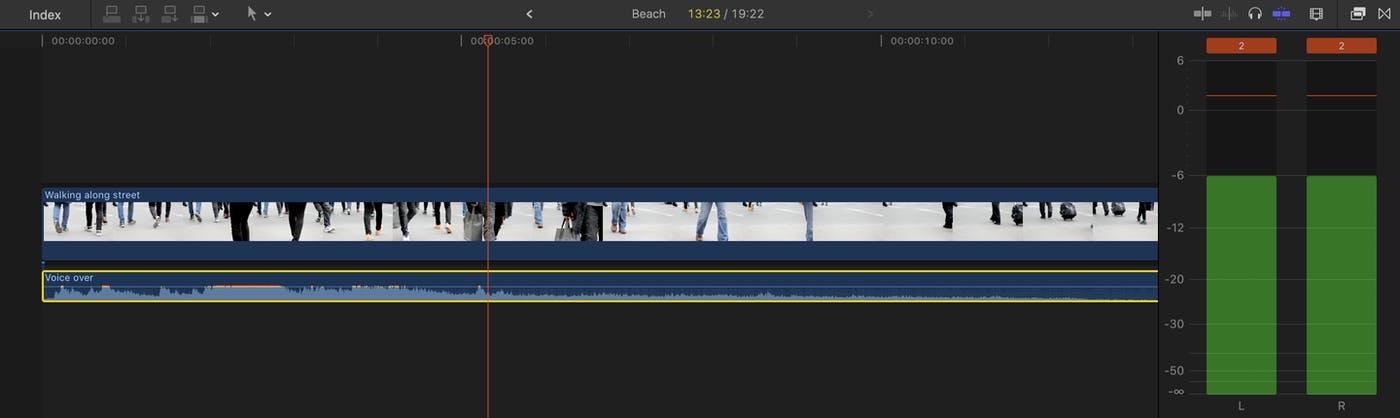 Recording Great Audio into Final Cut Pro X