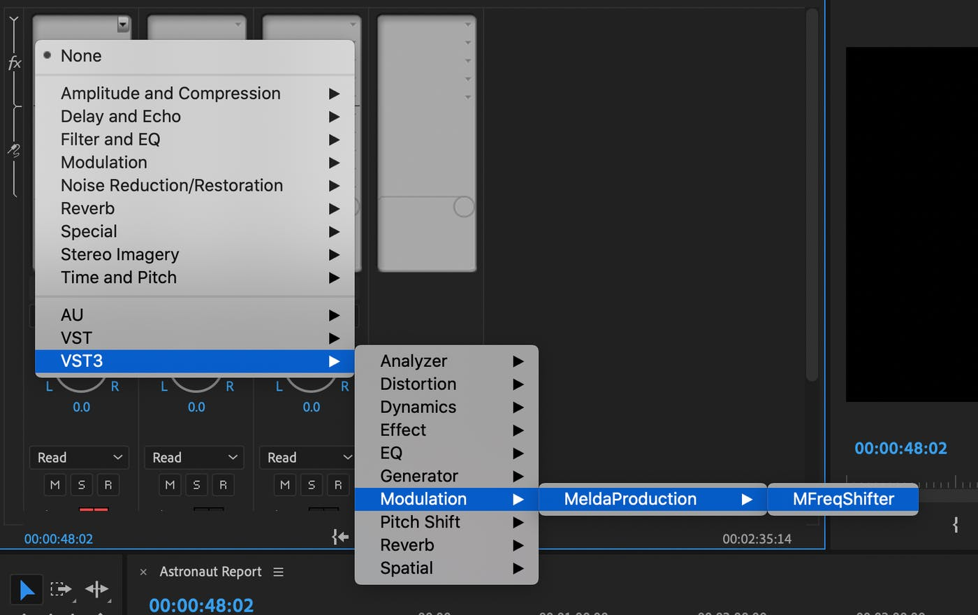 How to Make a Space Marine Voice Changer Filter in Premiere
