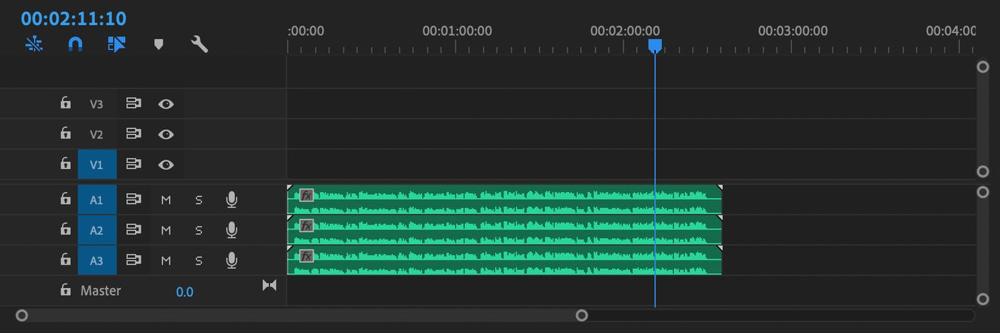 Make Monster Voice Changer in Adobe Premiere