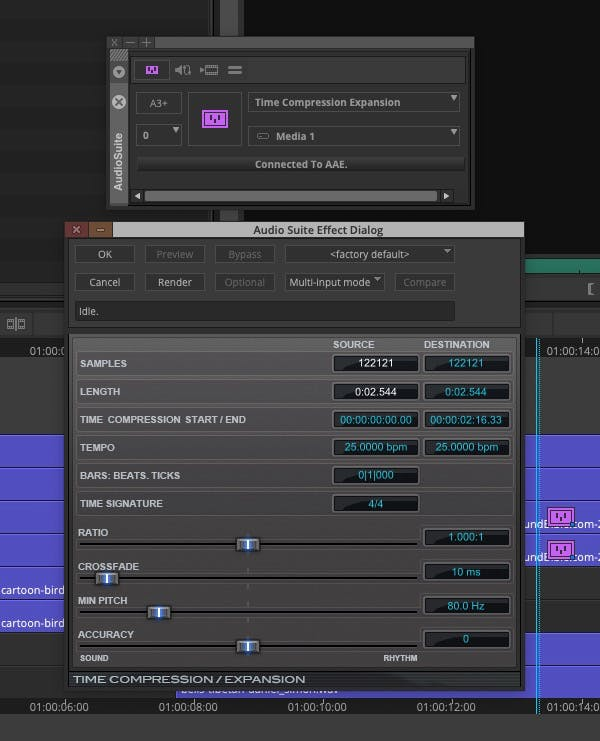 Working with Sound Effects in Avid Media Composer