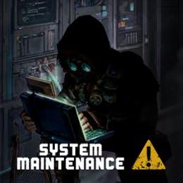 网站系统维护公告