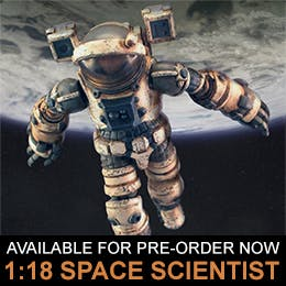 """Acid Rain World 1:18 series new product """"Space Scientist"""" now available for pre-order"""