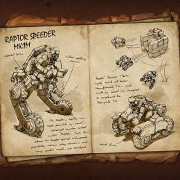 Raptor Speeder MK1m