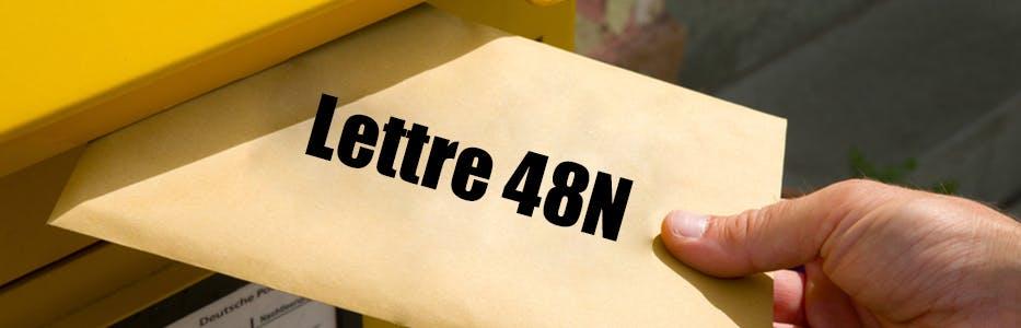 Lettre 48n perdue