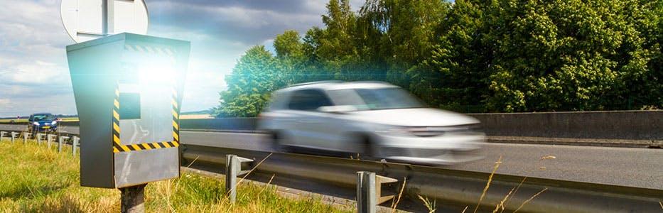 Retrait de permis à cause d'un excès de vitesse