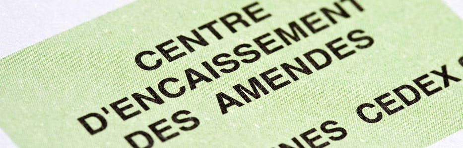 Payer une amende