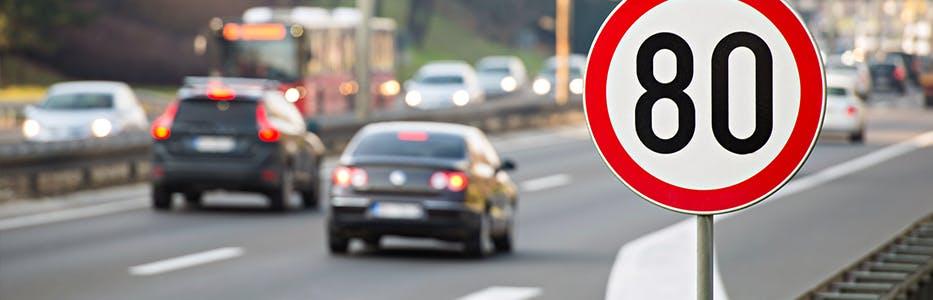Limitation de vitesse pour un permis probatoire