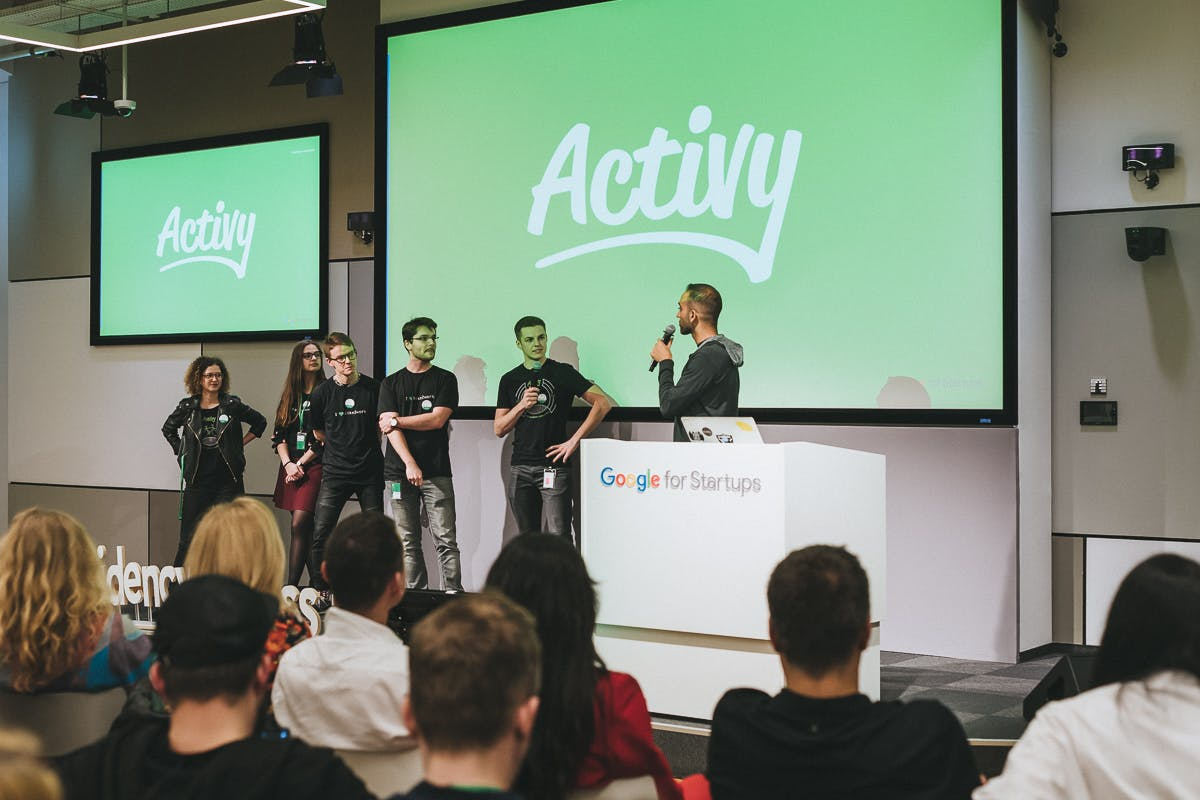 Activy Team on a conference