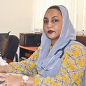 Dr. Nahya Salim, Head of Pediatrics, Muhimbili University