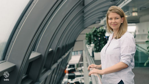 Dr. Claire Novorol at Ada's headquarters in Berlin