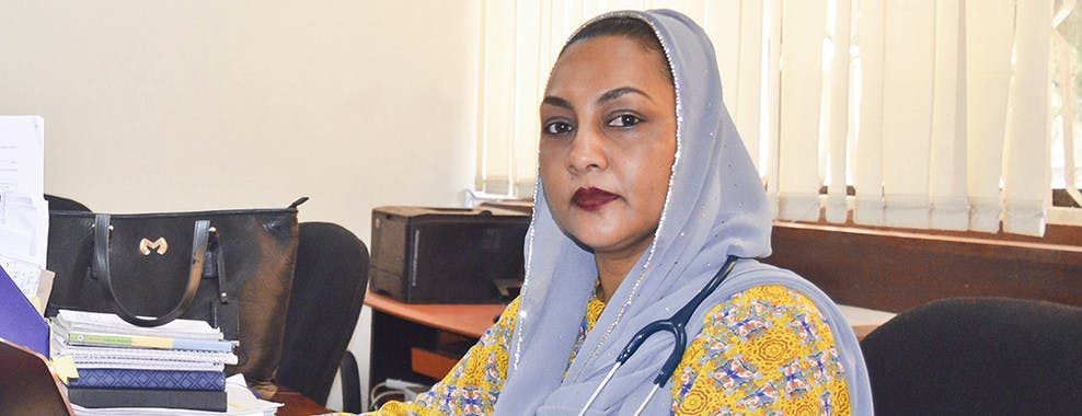 Dr. Nahya Salim, Head of Pediatrics, Muhimbili University
