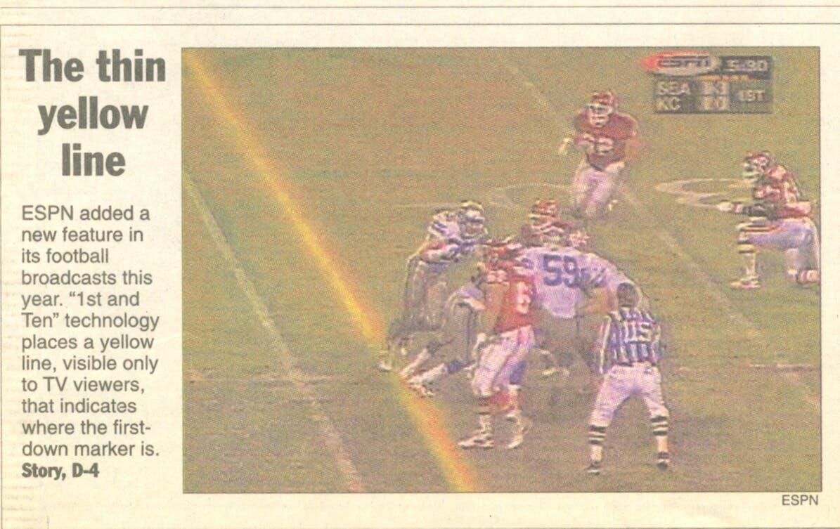 Yellow Line - ESPN - Kansas City Star (1998)