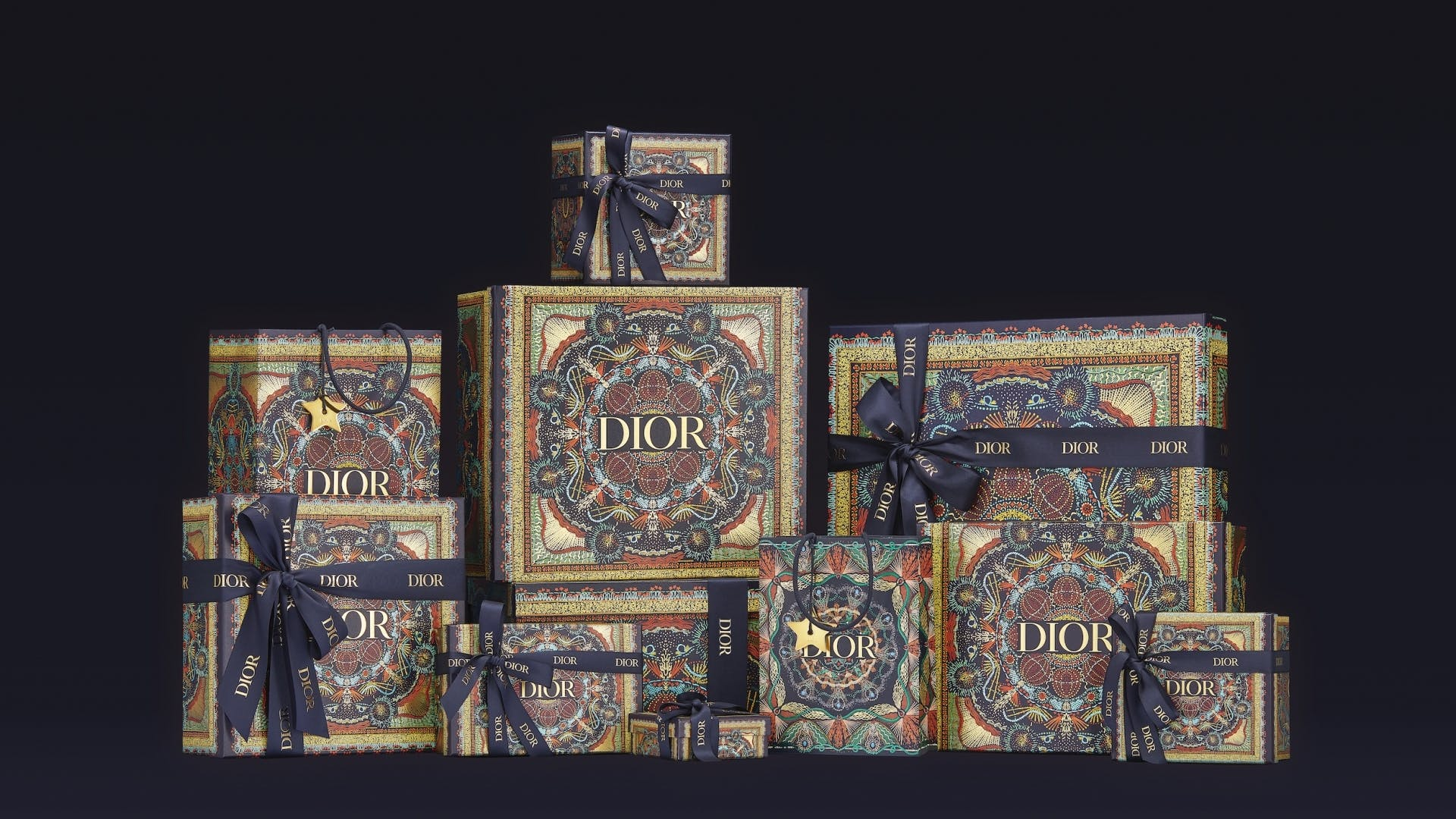 DIOR Christmas Packaging x Atomic Digital Design