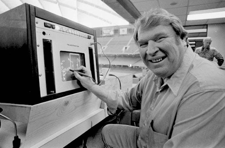 John Madden - 1982 - Super Bowl XVII
