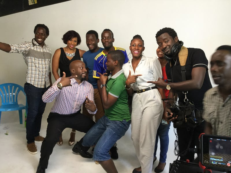 Its a wraaaaaaaap for NSSF friends with benefits commercial shoot
