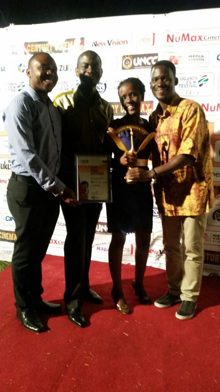Red carpet things - Uganda Film Festiva 2016