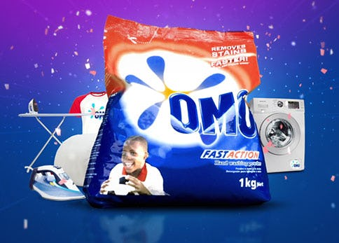 OMO Wrappers - Unilever