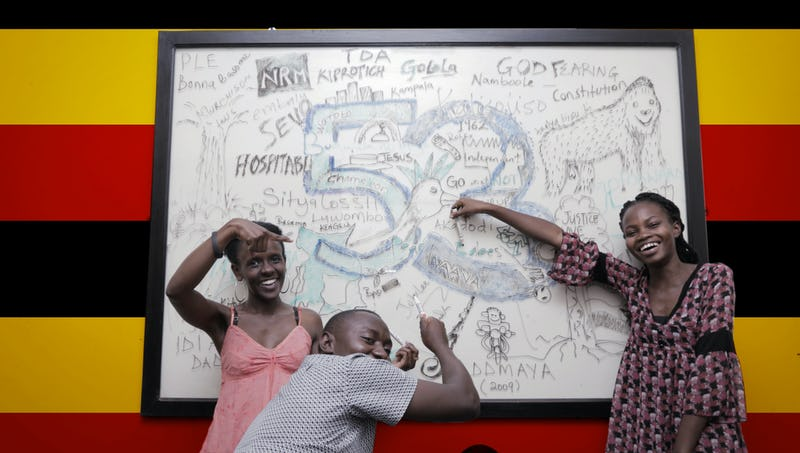 Our 7 day mural for Uganda's 53 independence celebrations