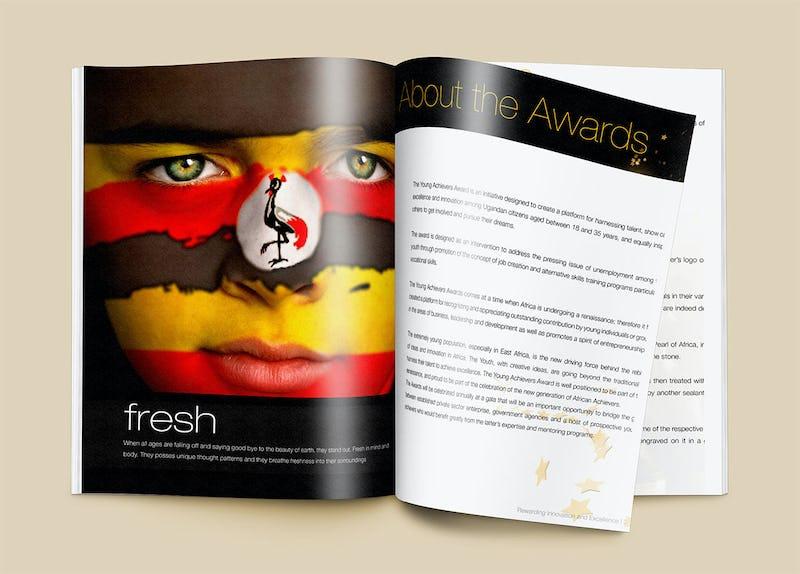 Young Achievers' Award Branding - Tetea