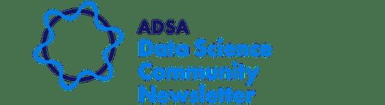 Data science community newsletter logo