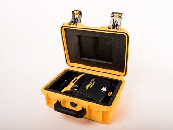 LifePak CR Plus AED in Carrying Case
