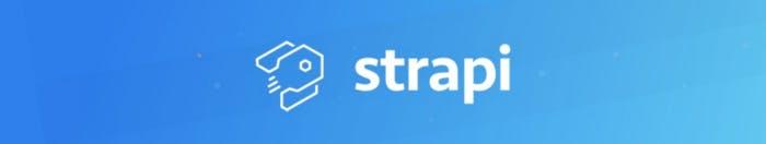 Imagen del logo de Strapi
