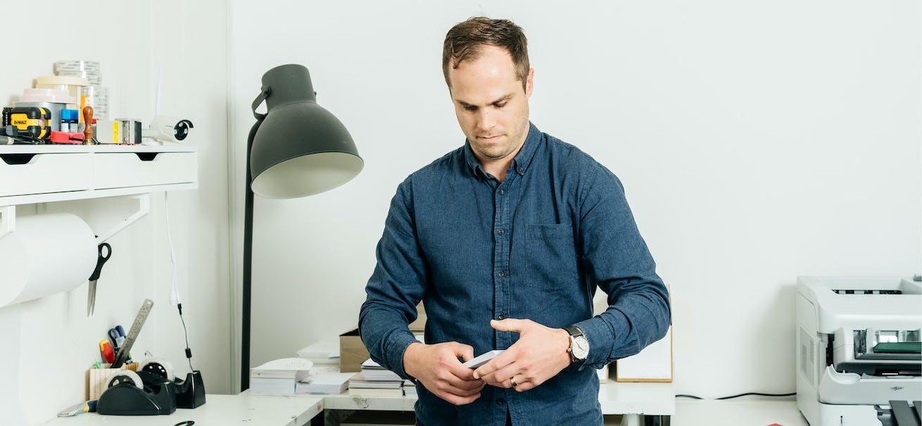 Paperlust co-founder Alex Boston