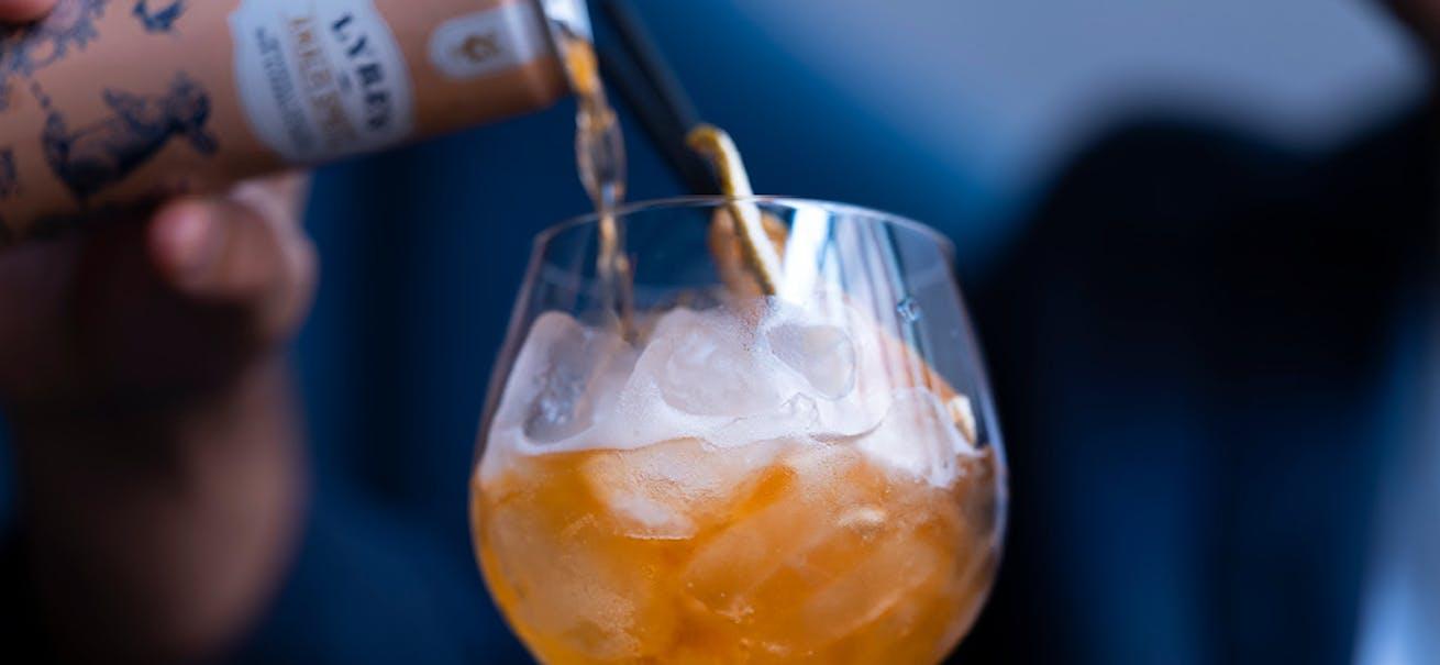 A Lyre's Spirit Co cocktail
