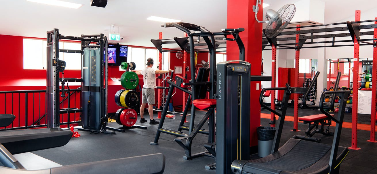 SNAP Fitness gym
