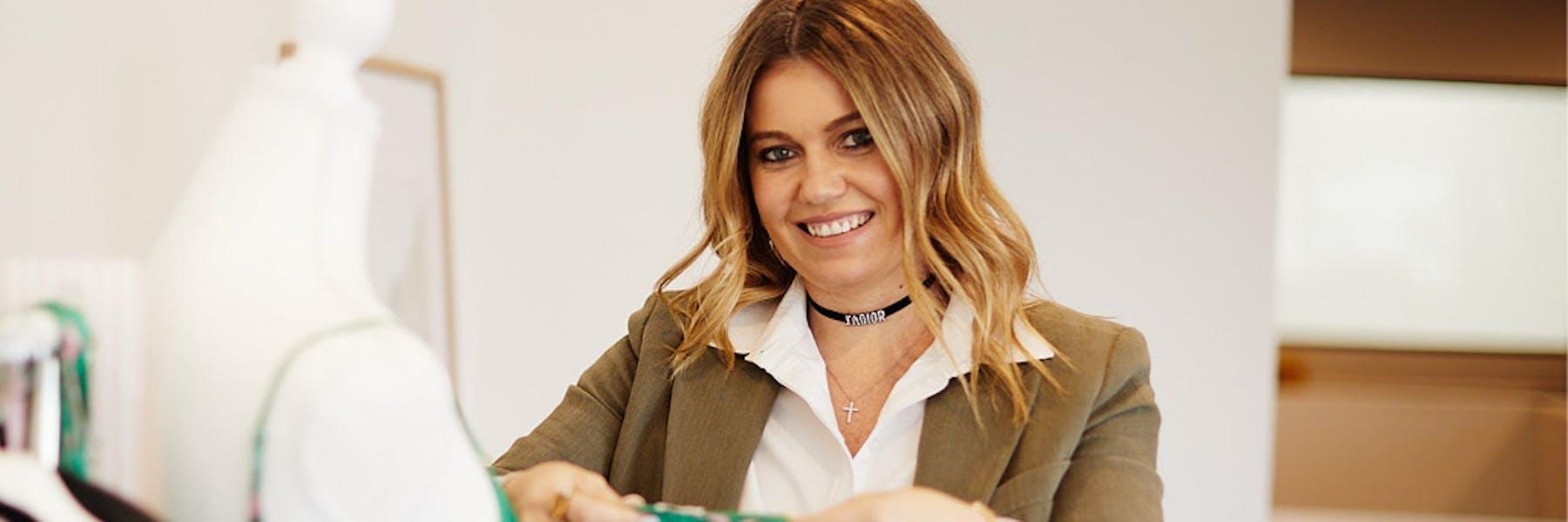 Olivia Carr, founder of Shhh Silk PHOTO: Kristoffer Paulsen
