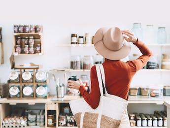 Female conscious consumer