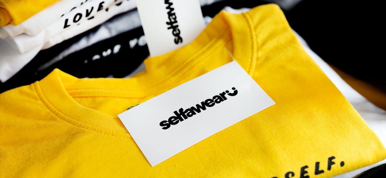 A Selfawear t-shirt