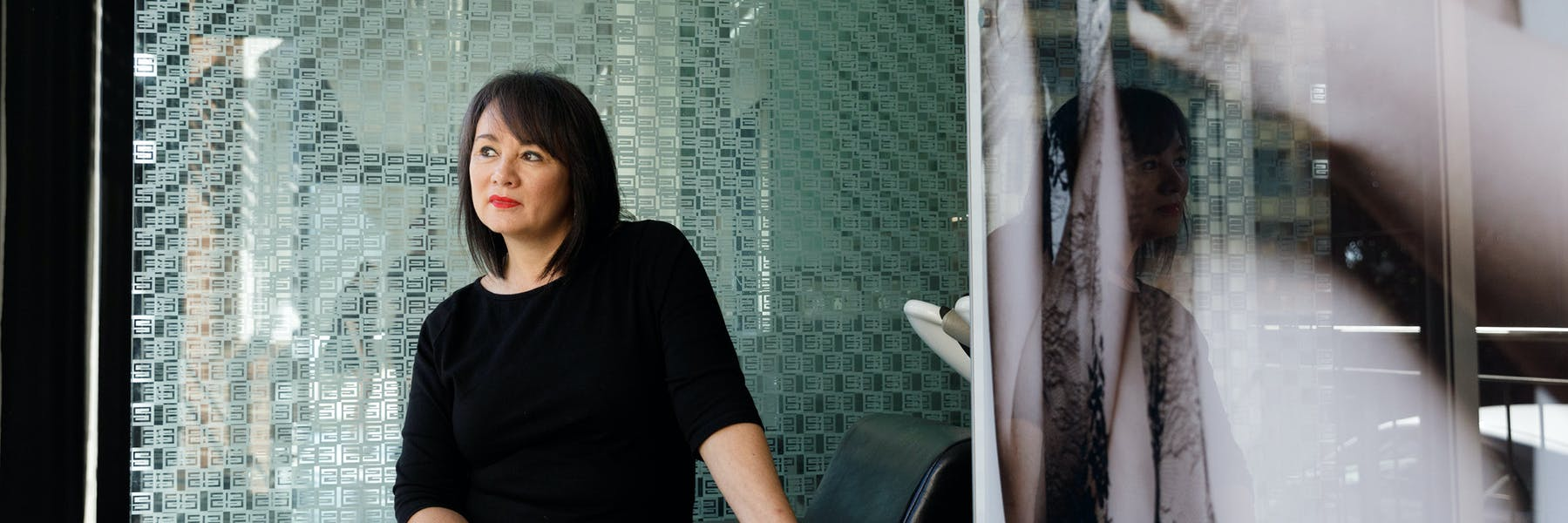 Sandy Chong of Suki Hairdressing in Newcastle, NSW PHOTO Max Mason-Hubers