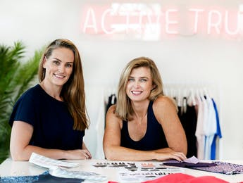 Active Truth founders Nadia Tucker and Stevie Angel