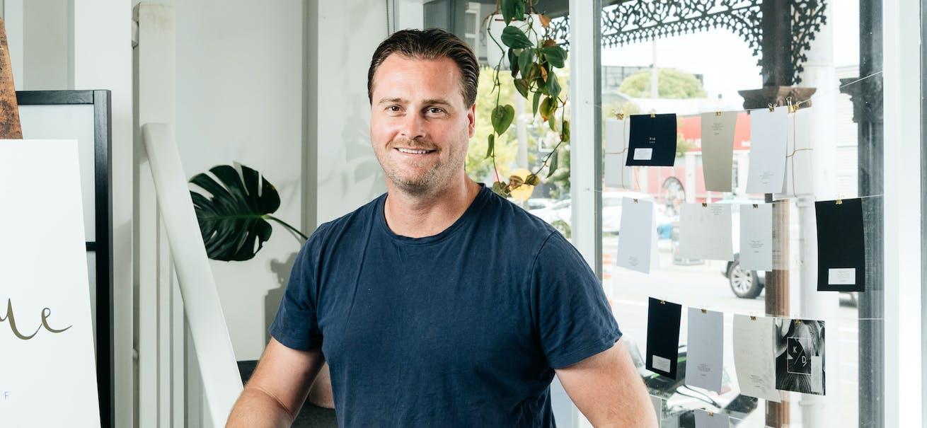 Paperlust founder James Boston