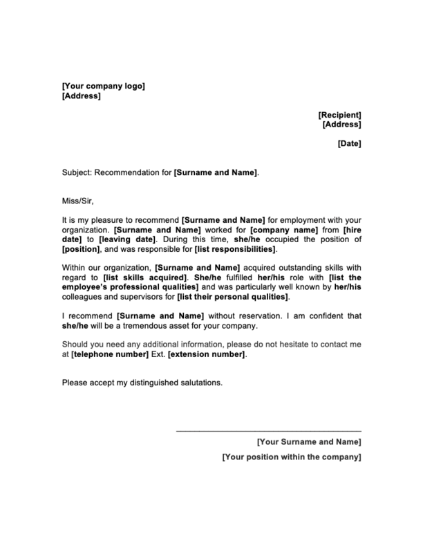 Letter Of Recommendation Letter Format from images.prismic.io