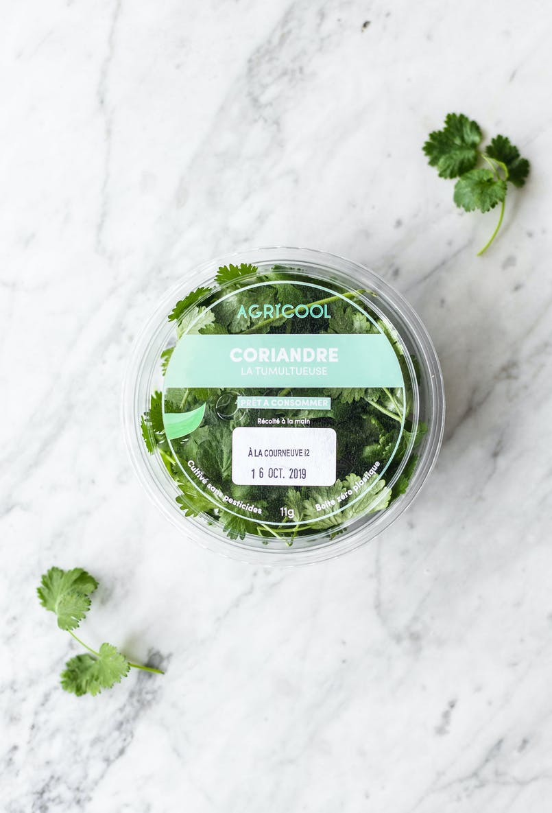 Our coriander is fresh, pesticide-free, local, and last but definitely not least, 100% delicious.